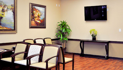 Expedian Urgent Care Centers Lobby